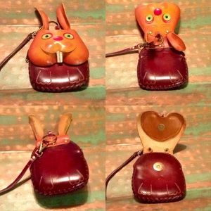 💕🐰 100% Leather Coin Purse